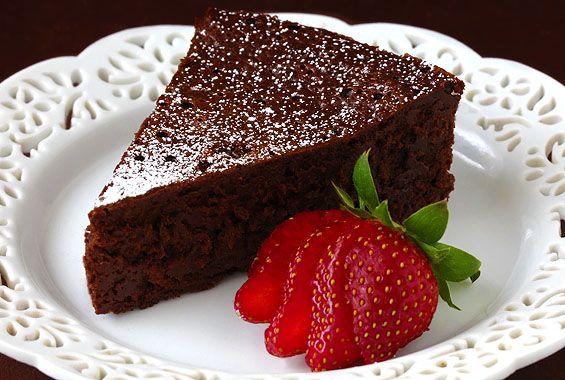 کیک کاکائویی بدون قند و رژیمی
