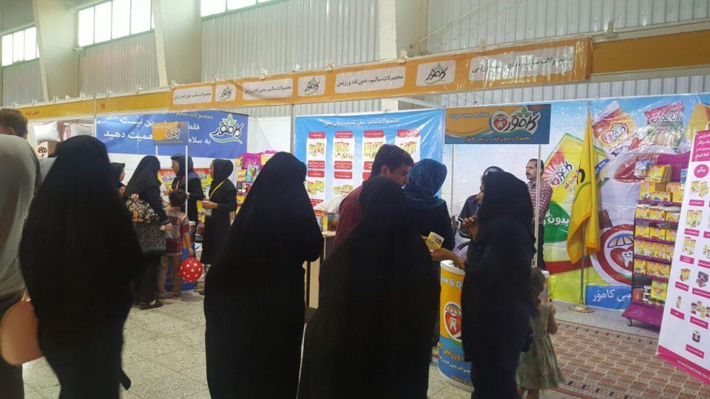 حضور کامور در اولین نمایشگاه تخصصی مادر،نوزاد و کودک در اصفهان