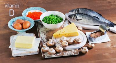چه مواد غذایی ویتامین d دارند, علائم کمبود ویتامین d