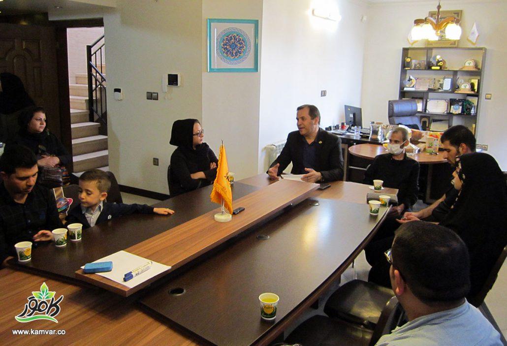 گردهمایی مشتریان و مدیر عامل محصولات کاموَر