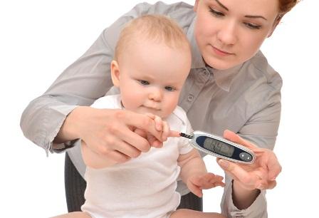 دیابت نوع یک در کودکان