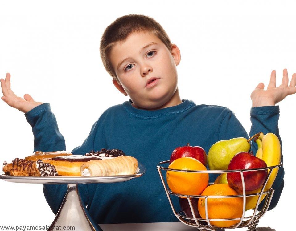 رژیم غذایی کودکان مبتلا به دیابت نوع ۱
