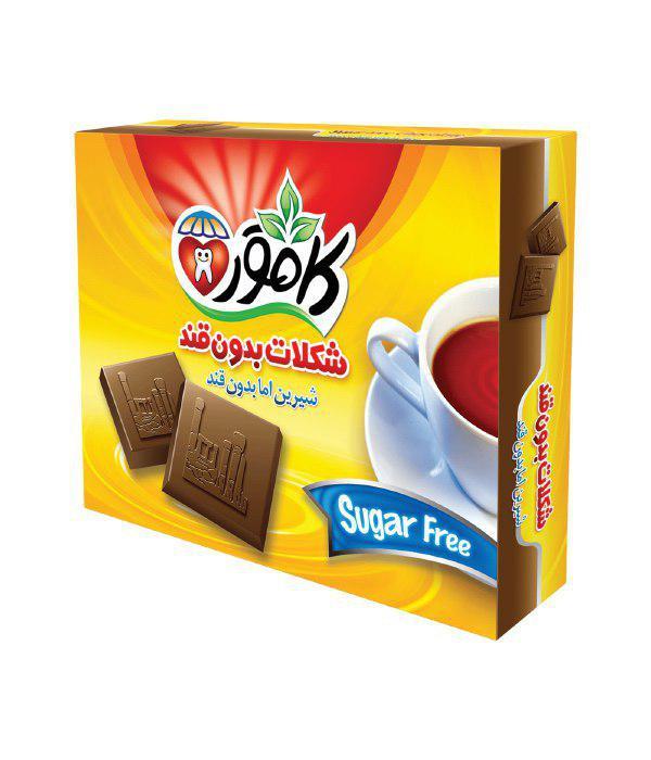 شکلات کاکائو رژیمی
