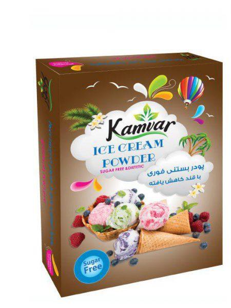 پودر بستنی رژیمی