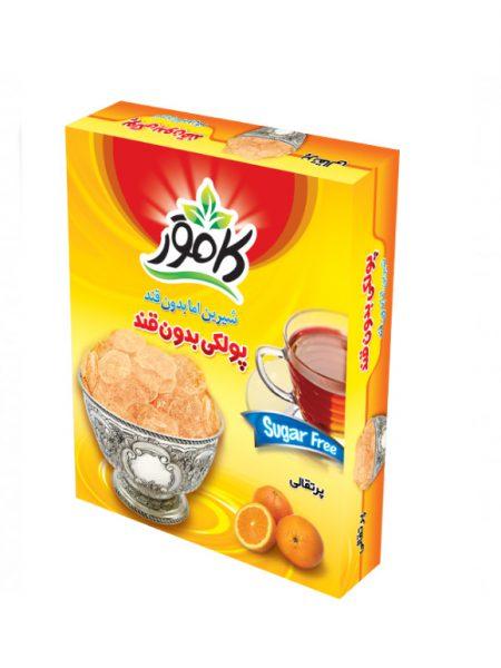 پولکی پرتقالی رژیمی